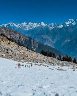 Kuari Pass trek with Pangarchulla Peak Trek